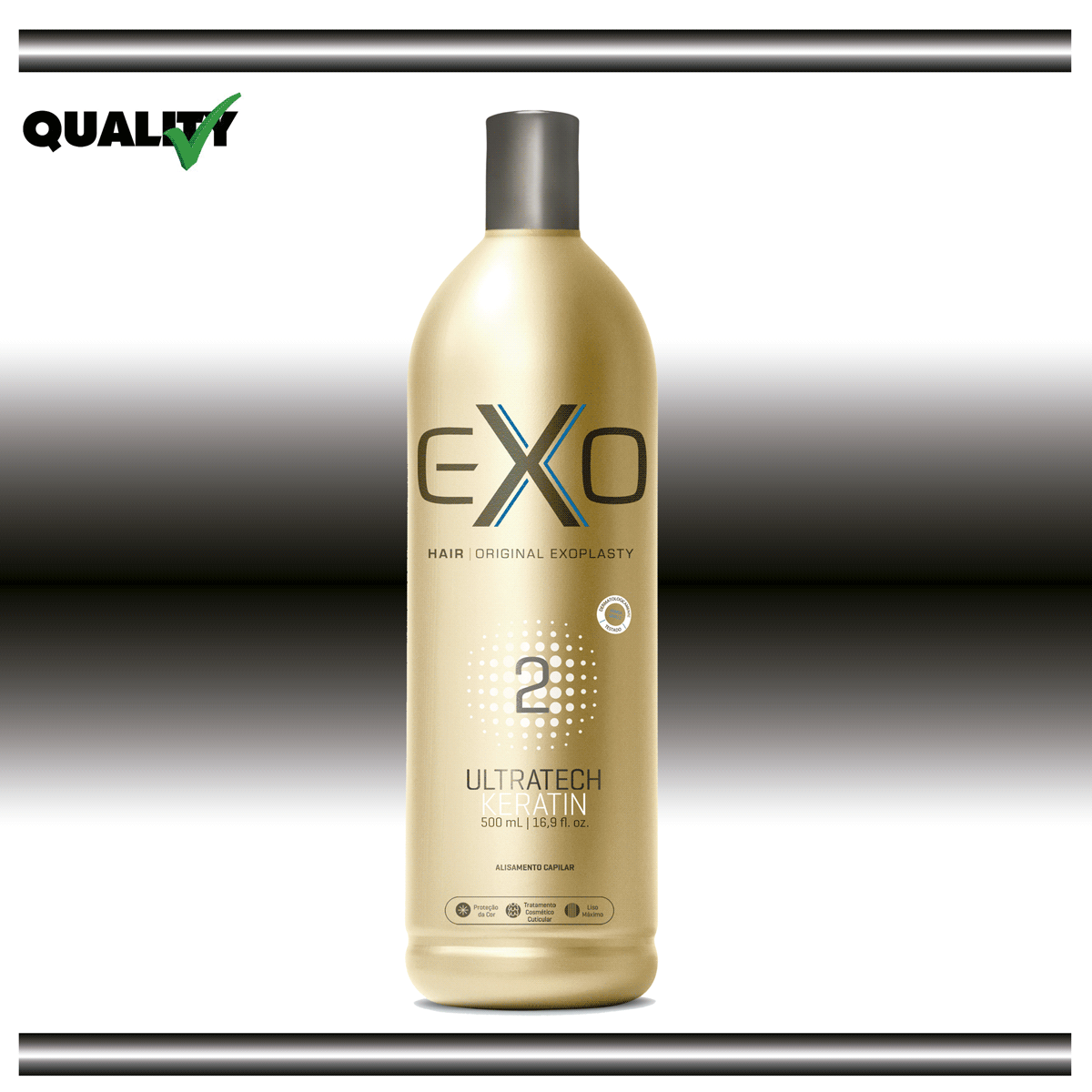 2e9699d6b Exoplastia Capilar Ativo Ultratech Keratim 500 ml - Total Hair ...